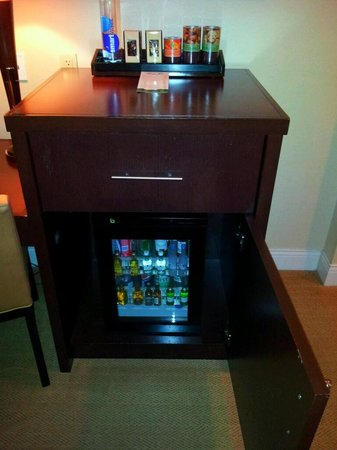 Mount Airy Casino Resort: minibar