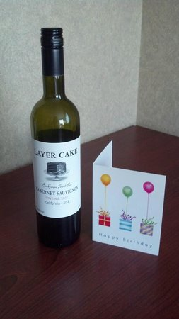 Homewood Suites by Hilton Chicago Downtown: Birthday offering from the hotel!