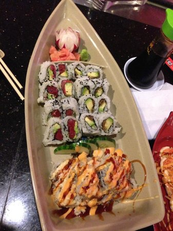 Anniston, AL: Sushi (rolls) always presented well