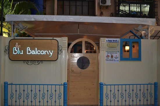 The blu balcony bar grill serves beer alcohol for Balcony grill and bar