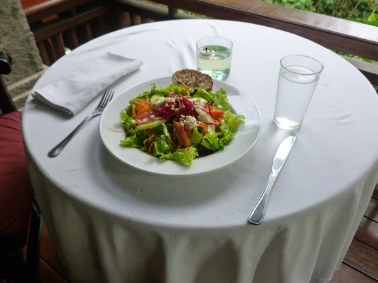 ONEWORLD retreats Kumara: Delicious meal!
