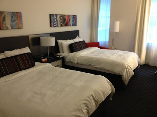 Loews Philadelphia Hotel: Double room