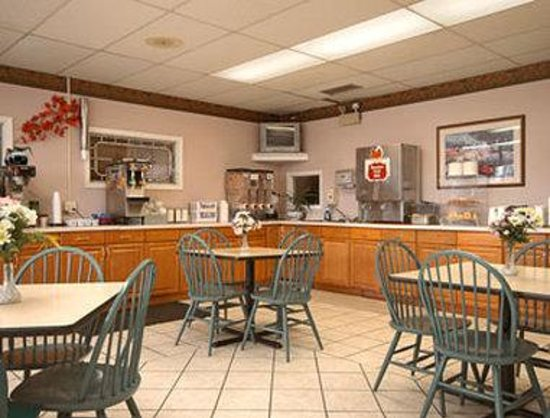 Christiansburg, Virginie : Breakfast Area