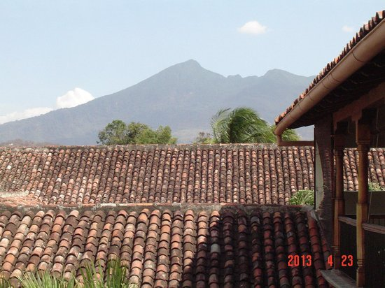 Hotel Patio del Malinche: view from room 17