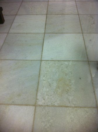 Turtle Bay Resort: Moldy tile