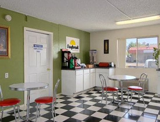 Yuba City, Californien: Breakfast Area