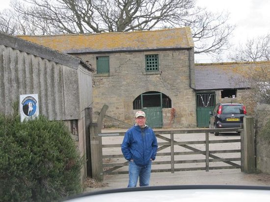 Heddon-on-the-Wall, UK: Houghton North Farm Entrance