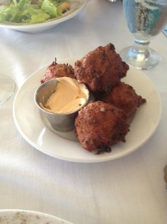 Tilghman, Μέριλαντ: The Best Thing I ever ate: Crab n Corn Fritters