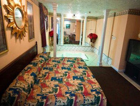 Knights Inn Trevose : Royal Honeymoon Suite