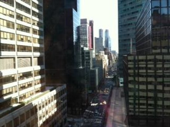 Doubletree Hotel Metropolitan - New York City: View from Room 1602 - Lexington Aven