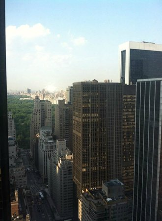 New York Hilton Midtown: View from room 4008 Breathtaking!