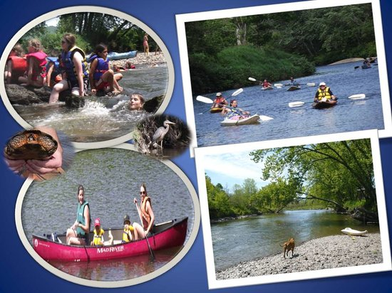 ซัตตัน, แคนาดา: Canoe and kayak excursion in Sutton, Quebec