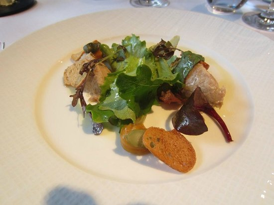 Loch Lomond and The Trossachs National Park, UK: Confit duck & pork rillettes