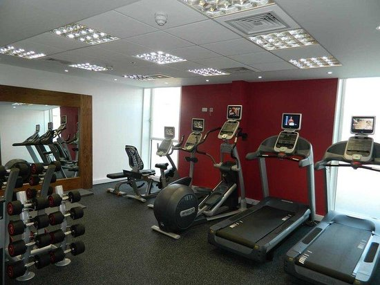 Hilton Garden Inn Glasgow City Centre: Fitness Room by Precor