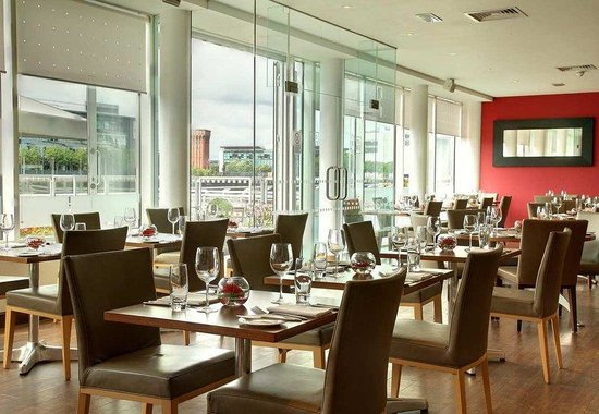Hilton Garden Inn Glasgow City Centre: Restaurant