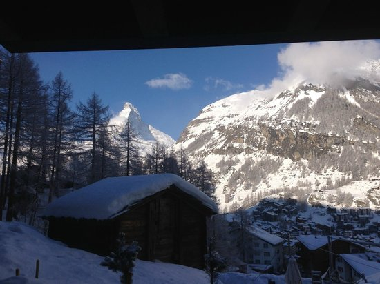 CERVO Zermatt: Best room view I've ever had!