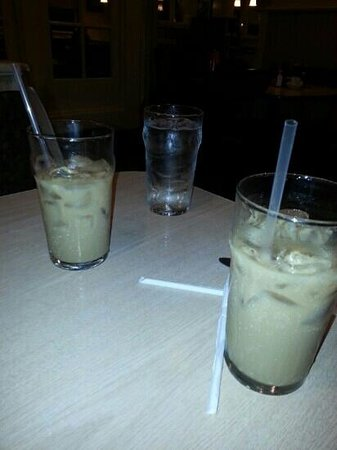 Shawnee, OK: iced coffee!