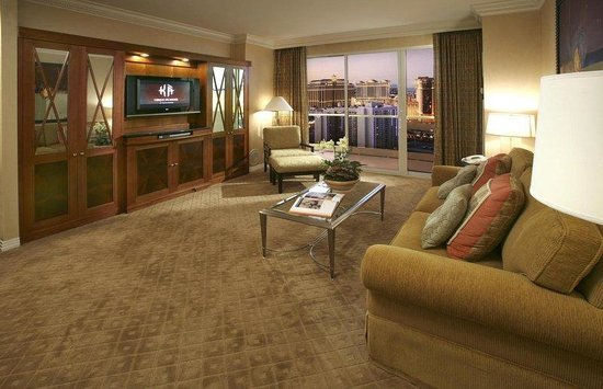 one bedroom balcony suite picture of signature at mgm