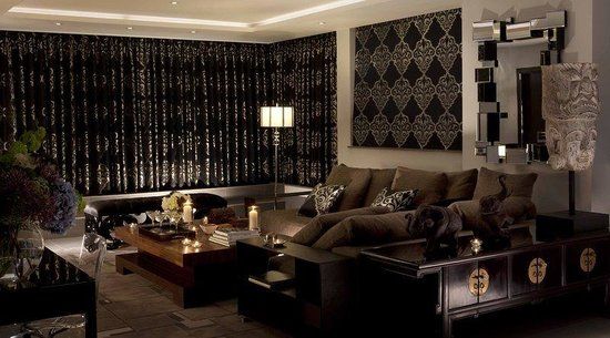 The May Fair Hotel: Ebony Suite, lounge