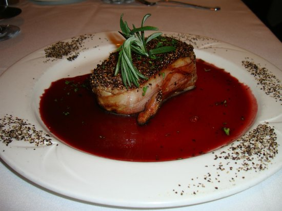 Bacon wrapped tuna fantastic picture of monterey bay for Monterey bay fish grotto