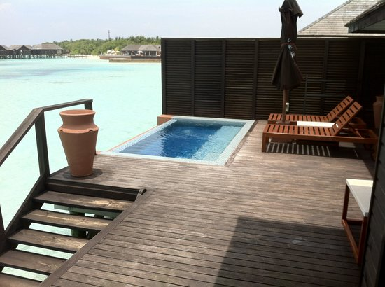 Lily Beach Resort & Spa: Water Villa- Terrace
