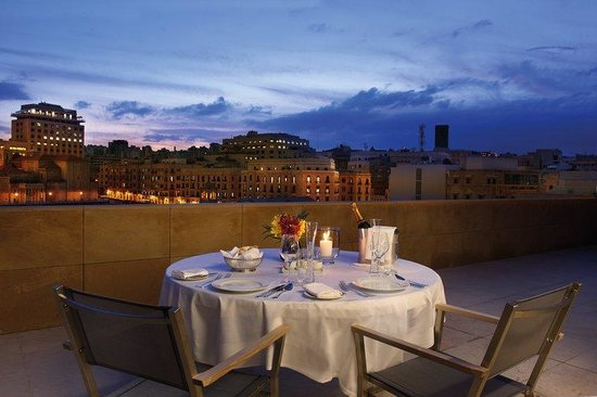 Le Gray Beirut : Presidential Suite Terrace Romantic Dinner