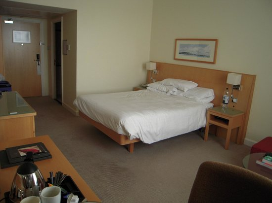 Hilton Dublin Airport: Standard double bed room