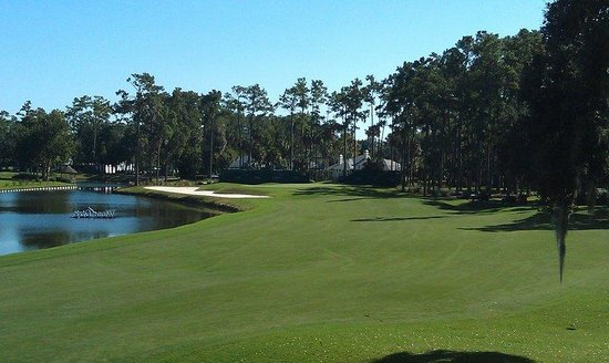 Holiday Inn Express Hotel & Suites Saint Augustine North: TPC Sawgrass only 30 minutes drive