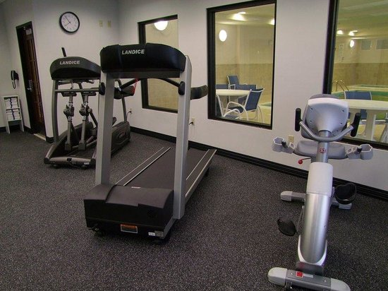 Morton, IL: Work up a sweat on our cardio machines!