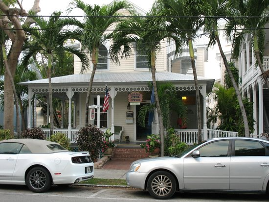 The Palms Hotel- Key West: Hotel Front