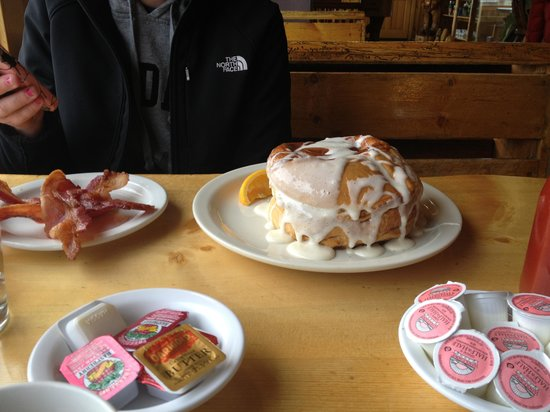 Ketchum, ID: Great breakfast at the lodge.