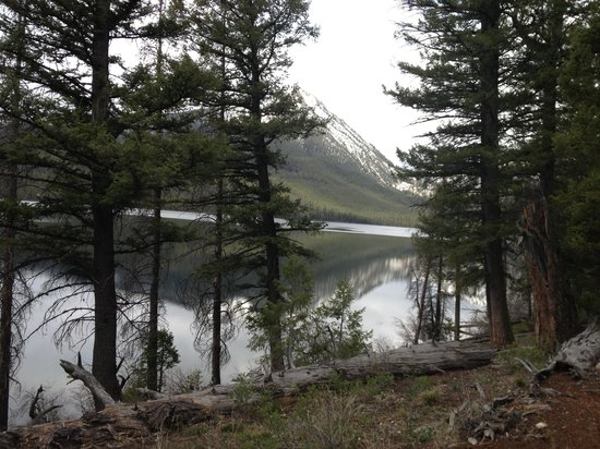 Ketchum, ID: Petit Lake, approx. 5 miles from Smiley Creek Lodge