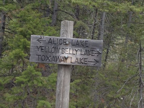 Ketchum, ID: Hiking towards Alice Lake
