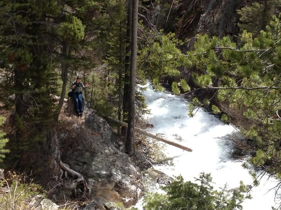Ketchum, ID: Waterfall where we turned around and headed back down