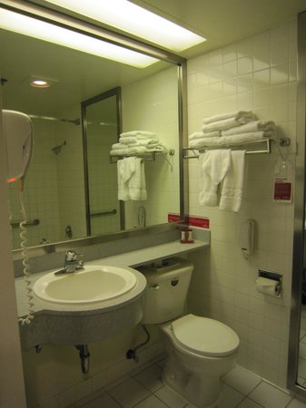 Ramada Plaza West Hollywood Hotel and Suites: Bathroom