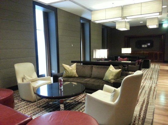 Sofitel Sydney Wentworth: Club area