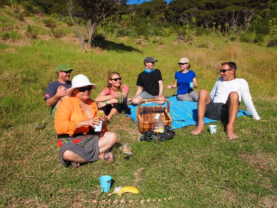 Bay of Islands, Selandia Baru: Nice picnic lunch,