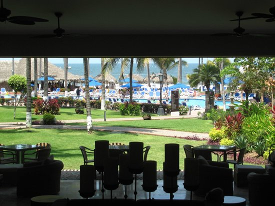 Occidental Grand Nuevo Vallarta: View from open air lounge