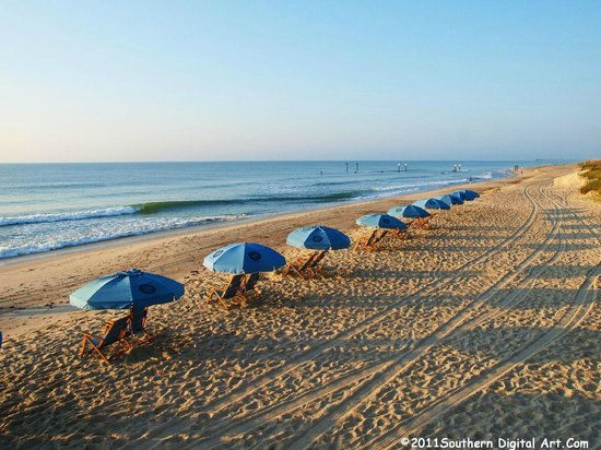 Atlantic Towers: Beach Chair and Umbrella Rentals Available