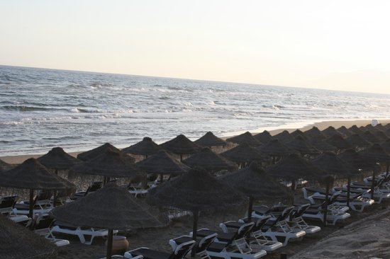 Marriott's Marbella Beach Resort: Beach in the evening