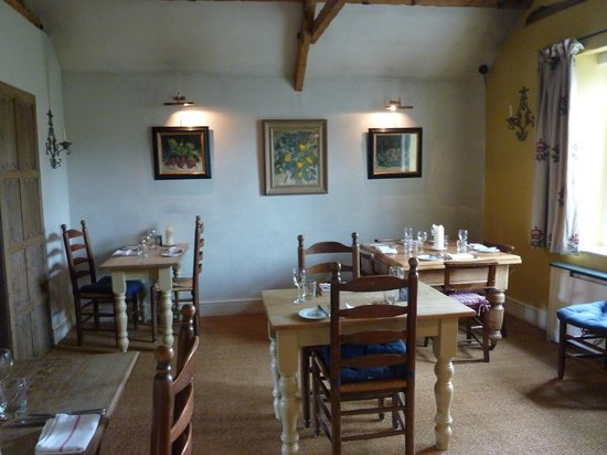 Kingham, UK: Dining Room Area (part of)