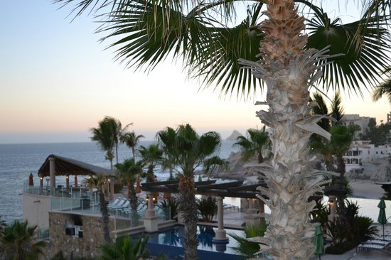Welk Resorts Sirena Del Mar: Sunset on our balcony!