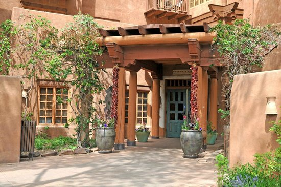 The Hacienda and Spa at Hotel Santa Fe : Main Entrance - Hotel Santa Fe