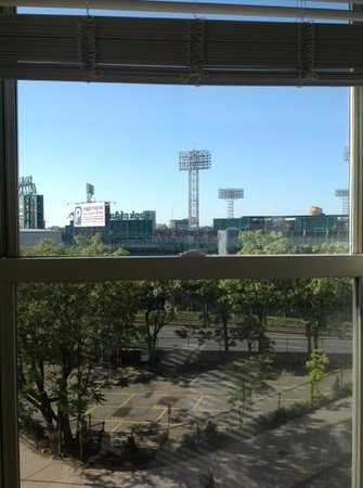 Boston Hotel Buckminster: view of the park