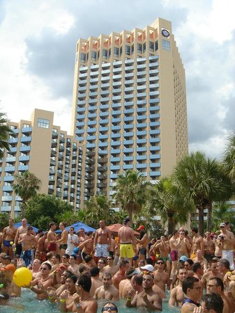 Buena Vista Palace Hotel & Spa: Reunion Pool Party 2012