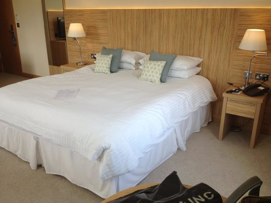 Fistral Beach Hotel: The room