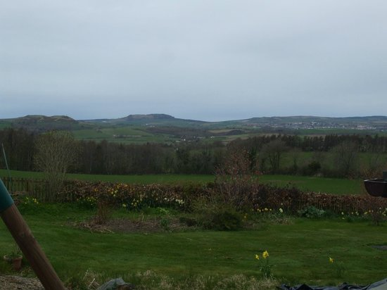 Maybole, UK: View from driveway