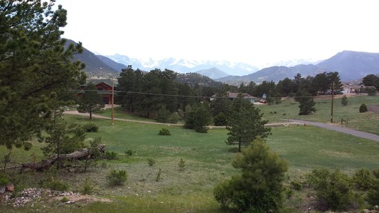 Comfort Inn Estes Park: beautiful view