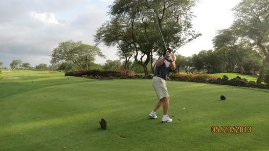 Grand Wailea - A Waldorf Astoria Resort: top notch golf only 5 minutes away