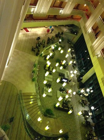 Sawgrass Marriott Golf Resort & Spa: View from the 7 floor of the lobby bar